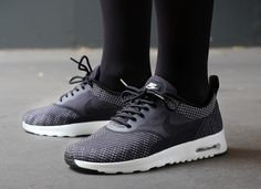 Nike Wmns Air Max Thea Print Dark Grey Black Volt