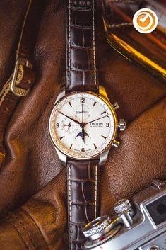 #unionglashütte #belisar #chronograph #mondphase #herrenuhr #automatikuhr #uhrzeit Herren Chronograph, Retro, Wristwatches, Leather, Accessories, Smartphone, Jewelry, Random, Outfit