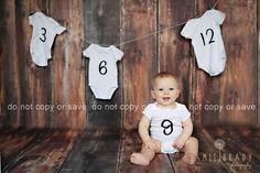 Sweet 9 month old <3 Love this idea that mom came to me with!!