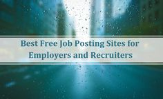 professional job posting sites