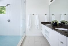 Avenue F master bathroom