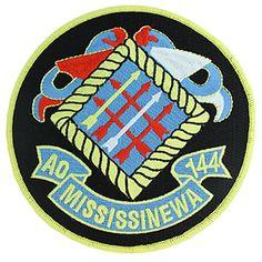 USS Mississinewa AO-144 Patch  Grandpas Ship