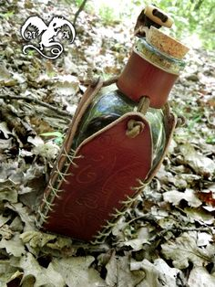 Fantasy bottle holster 1 by ~Noir-Azur on deviantART