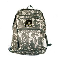 """Licensed US Army Backpack (Retail Price $79.99) """"Our Price $26.00"""" only at Nomorerack.com"""