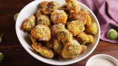 Parmesan Crusted Brussels Sprouts Are The Healthiest Addiction