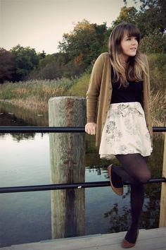 summer skirt in winter