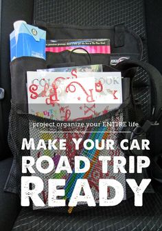 Organization tips for making your car road trip ready