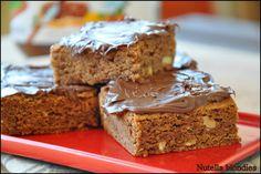 La cucina di zia Ale: Nutella blondies - Quadrotti nocciole e nutella