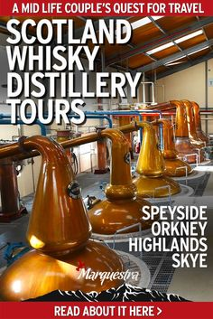 7 Whisky Distillery Tours in Scotland: The Ultimate Malt Whisky Discovery. Speyside, Orkney, Highlands and Isle of Skye, a marvellous tour for the malt amateur. Whiskey Tour, Scotch Whiskey, Irish Whiskey, Scotland Tours, Scotland Travel, Scotland Trip, Visiting Scotland, Aberlour Whisky, Wow Travel