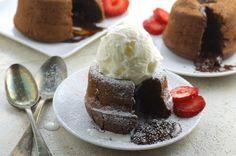 Paula Deens Molten Lava Cake Recipe - Food.com
