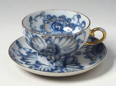 russian tea cup and saucer | ... garden porcelain cup saucer singing garden porcelain cup saucer