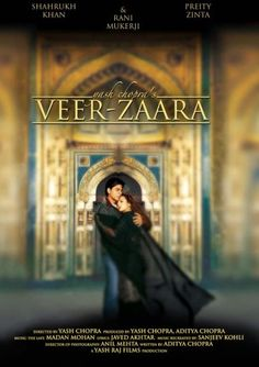 Veer-Zaara. (Drama/Romance.) Romeo and Juliet, but with a less permanent ending. And SRK is a chopper pilot. Yay.