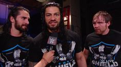 Raw on Monday ahhh the shield it back