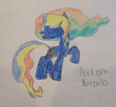 Aurora Borealis is a happy go luck earth pony who loves to watch the stars at night.. She uses her magical abilities in her mane to fly in the night sky.. 50 bits to adopt.