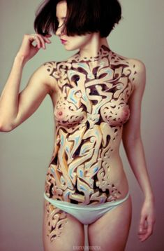 Znag Graffiti Body Paint