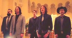 """Home Free's brand new version of """"O Holy Night"""" is stunning with their talented vocals singing a cappella in the setting of this beautiful church.  Founded in the early 2000's by brothers Chris and Adam Rupp, Home Free was crowned the champions of NBC's Sing Off – and deservedly so. .."""