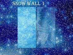 SookieSue's SS Snow For Frozen Wall 1-2