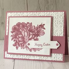 Heartfelt Blooms stamp Set is a free selection from Stampin' Up during Sale-A-Bration 2018