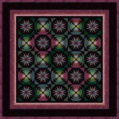Pineapple delight: Pineapple log cabin quilts!
