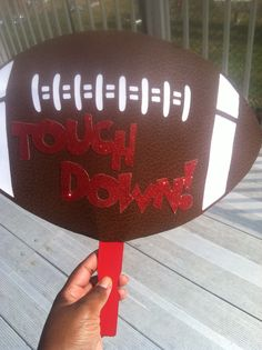 Football Signs in blue and gold! Football Spirit, Football Signs, Football Cheer, Youth Football, Flag Football, High School Football, Football And Basketball, Football Season, College Football