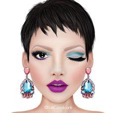 5 maquiagens com o batom Raven
