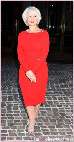 Helen Mirren at The Debt screening NYC