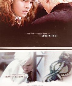 Love them. #DracoMalfoy #HermioneGranger