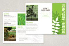 Designer Landscaping Brochure Template from Inkd
