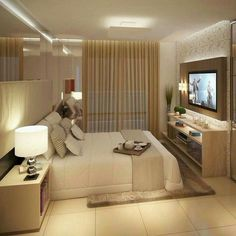 The Nuiances of Luxury Bedroom Design Ideas - myhomeorganic Luxury Bedroom Design, Home Room Design, Master Bedroom Design, Home Decor Bedroom, Home Interior Design, Living Room Designs, Luxurious Bedrooms, Beautiful Bedrooms, House Rooms