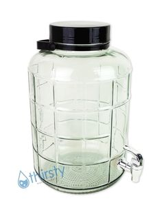 For fish/herbs?  3 Gallon Glass Carboy Dispenser. These large 3 gallon glass bottles come with a faucet to easily dispense water from your bottle. It is perfect for any occasion and can be placed beautifully in your home, office, or party. | eBay!