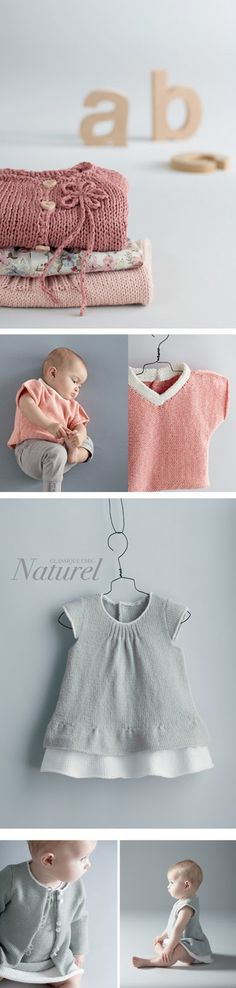 These knit clothes might be the motivation I need to have another baby.  Or I could just buy the clothes without the baby?!?