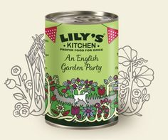 An English Garden Party, can, 400gr