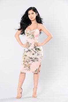 Miami Bay Dress - Pink