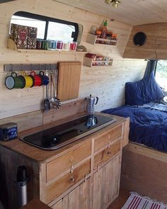 99 Awesome Camper Van Conversions That'll Make You Inspired (66)