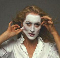 A atriz Meryl Streep, em 1981, aos 32 anos.