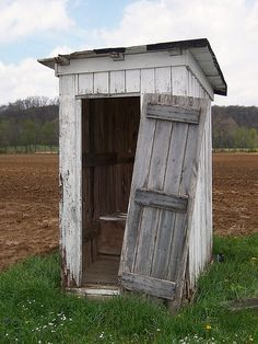 Meadow Outhouse...this is a little run down but you get the idea...and yes I have used one several times...many years back.