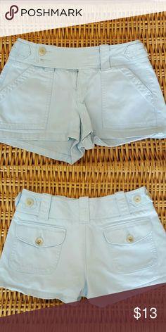 Banana Republic shorts Light blue shorts in grate condition.  Adorable Banana Republic Shorts Skorts