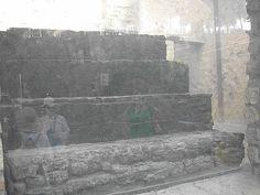 herculaneum carbonized stairs