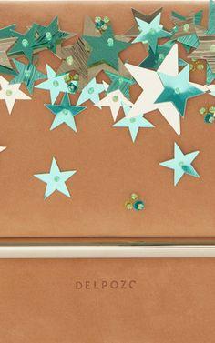 Star Embellished Mini Bo Crossbody Bag by DELPOZO | Moda Operandi