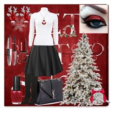 """Comfy Christmas 🎄"" by klm62 ❤ liked on Polyvore featuring Oliver Gal Artist Co., Yves Saint Laurent, Michael Kors, OPI, Victoria's Secret, Bling Jewelry, L'Oréal Paris and Beautyyy"