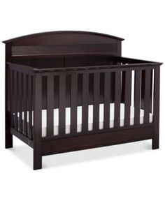 Borman 4 In 1 Convertible Crib Quick Ship Brown