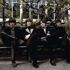 ♥♥♥♥George H. Harrison♥♥♥♥  ♥♥John W. O. Lennon♥♥  ♥♥J. Paul McCartney♥♥  ♥♥Richard L. Starkey♥♥  Photographed by Robert Whitaker - Retronaut