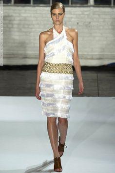 Altuzarra collection (Spring-Summer 2013, New York Fashion Week)  #Altuzarra See full set - http://celebsvenue.com/altuzarra-collection-spring-summer-2013-new-york-fashion-week-33-hq-pictures/