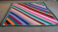 Just finished Hannah's blanket