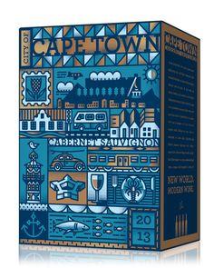 Wine & The City box designed by Simon Frouws Design