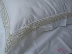 Vietnam Hand Embroidery Bedding QHBS_002 http://vinaem.vn/