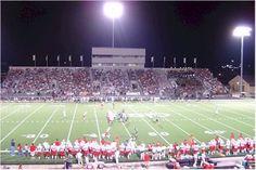 High school football under the Friday Night Lights!