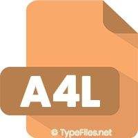 What is .A4L File Extension - An A4L file is a binary data file used by Authorware 4 software. File Information A4L files contain various informatio...