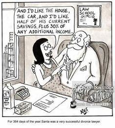 Santa the divorce lawyer Divorce Memes, Divorce Lawyers, Family Law Attorney, Attorney At Law, Christmas Holiday, Christmas Cards, Lawyer Humor, Legal Humor, Divorce Process