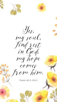 Psalm 62:5 #TheMendedHeart by Suzie Eller {thank you Proverbs 31 Ministries for this beautiful mobile background}